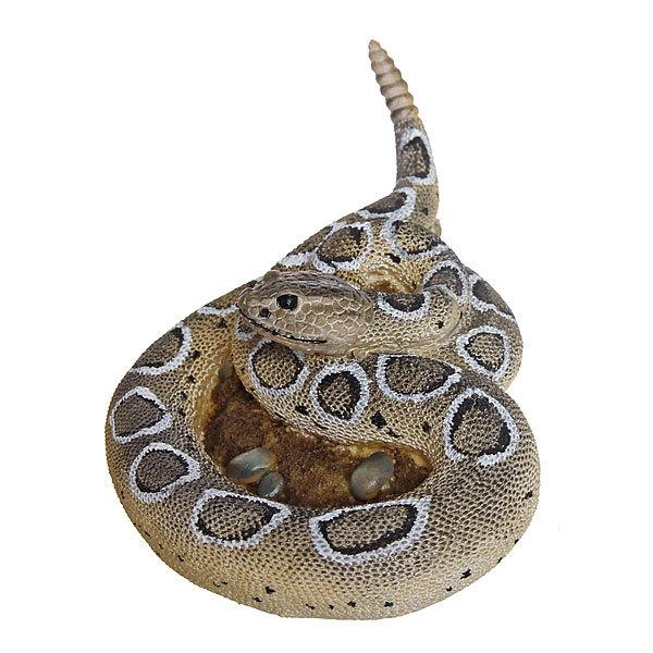 Садовая фигура ″Гремучая змея″, полистоун, 19*15 см купить оптом и в розницу