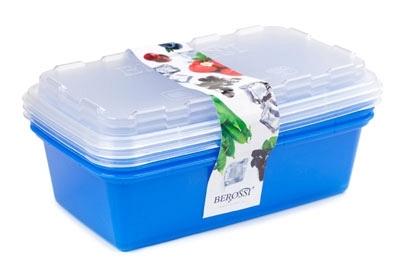 """Набор контейнеров для заморозки """"Zip"""" (джинс) *12 купить оптом и в розницу"""
