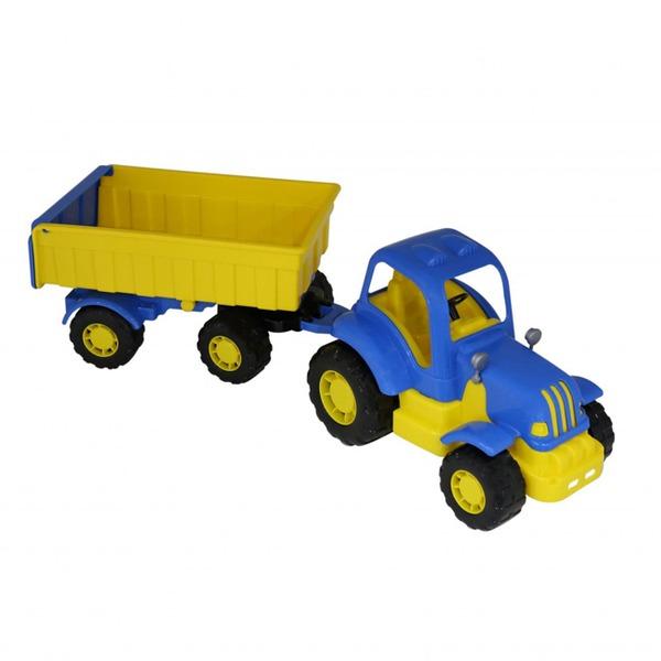 Трактор Силач с прицепом №1 44952 П-Е /4/ купить оптом и в розницу