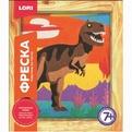 Набор ДТ Фреска Картина из песка Тиранозавр Кп-045 Lori купить оптом и в розницу