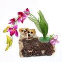 Копилка Собачки у цветов купить оптом и в розницу