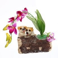 копилка 2239-C собака c цветы купить оптом и в розницу