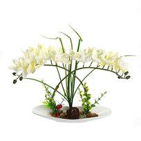 Цветы искусственные в тарелке ″Крокусы″ 21 см 051 купить оптом и в розницу