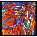 Набор ДТ Витраж Огненная лошадь HS004 купить оптом и в розницу