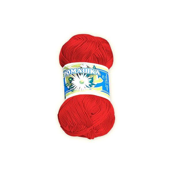 Нитки для вышивания Ромашка красные ц.0904 75г купить оптом и в розницу