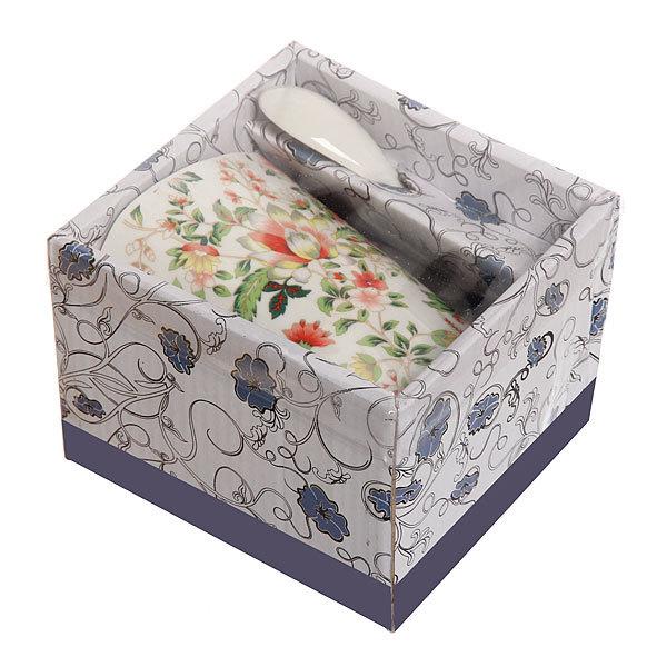 Кружка керамическая 300мл ″Цветы-2 ″ в коробке купить оптом и в розницу