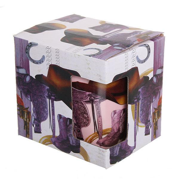 Кружка керамическая 300мл ″Ковбой″ в коробке купить оптом и в розницу