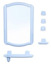 Набор ВК Беросси 46 (голубовато-бирюзовый)  * 5 купить оптом и в розницу