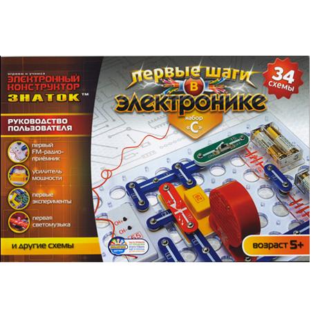 Эл. констр-р ЗНАТОК 34 схем 34C-Znat /15/ купить оптом и в розницу