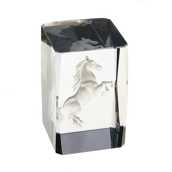 Фигурка из стекла ″Конь″ 8*5*5 купить оптом и в розницу