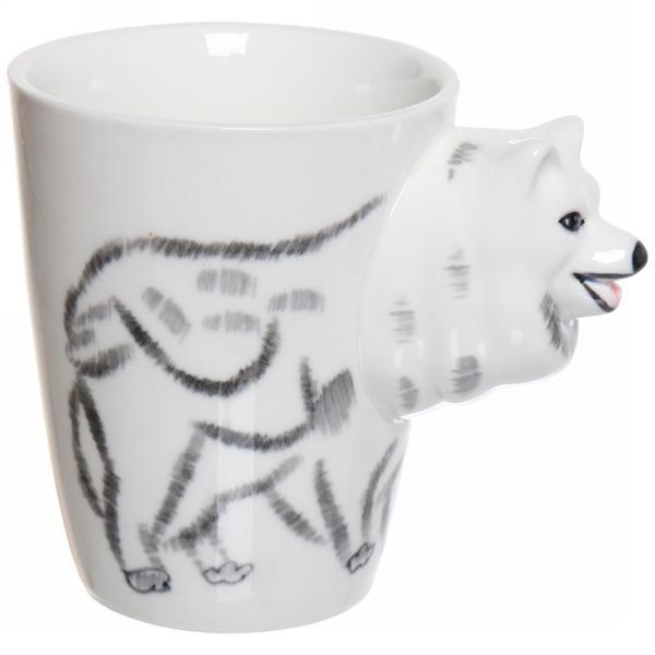 Кружка керамическая 350мл ″Зоопарк Собака″ купить оптом и в розницу