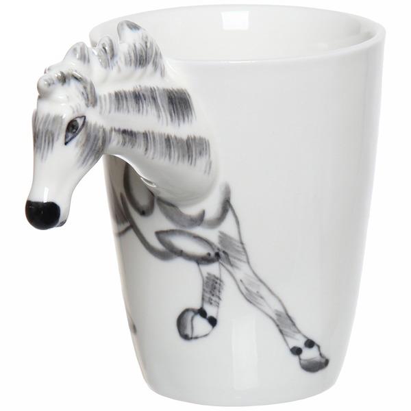 Кружка керамическая 350мл ″Зоопарк Лошадь″ купить оптом и в розницу