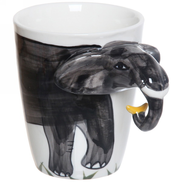 Кружка керамическая 350мл ″Зоопарк Слон″ купить оптом и в розницу