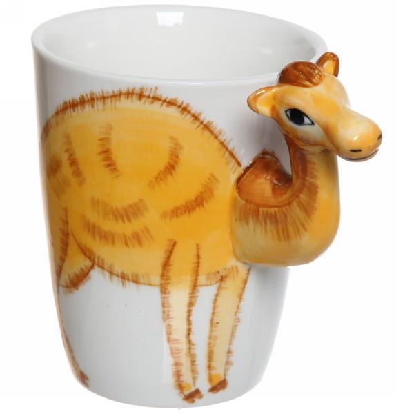Кружка керамическая 350мл ″Зоопарк Верблюд″ купить оптом и в розницу