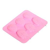 Форма для льда силиконовая ″Клубника″ в коробке ТМ14005 купить оптом и в розницу