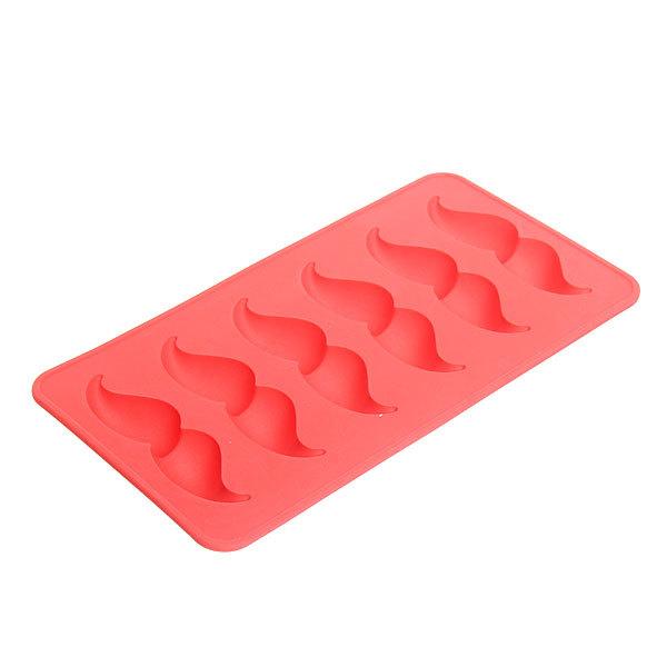 Форма для льда силиконовая ″Усы″ в коробке купить оптом и в розницу