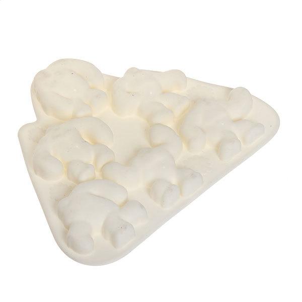 Форма для льда силиконовая ″Снежный человек″ в коробке купить оптом и в розницу