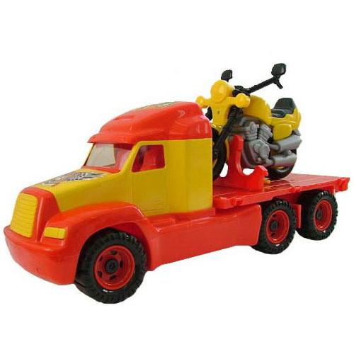 Автомобиль Майк платформа+мотоцикл Байк 55682 П-Е /2/ купить оптом и в розницу