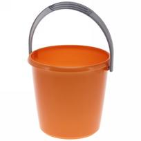 Ведро ″Соло″ 3л перламутровое оранжевое С630ОРЖ купить оптом и в розницу