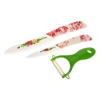 Набор ножей керамических 2шт+овощечистка в коробке CK-EL02 купить оптом и в розницу