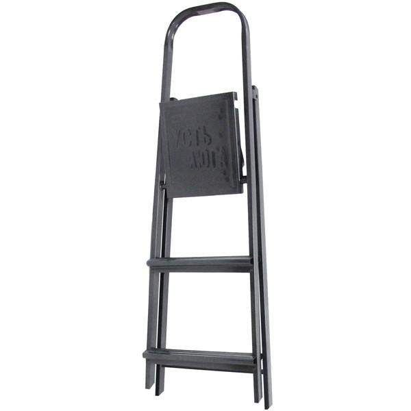 Стремянка металлическая 3 ступени, высота до платформы 635 мм, вес 3,8 кг, до 90 кг (СМ3) купить оптом и в розницу