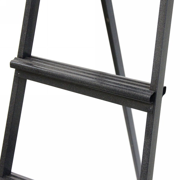 Стремянка металлическая 4 ступени, высота до платформы 990 мм, вес 4,6 кг, до 90 кг (СМ4) купить оптом и в розницу