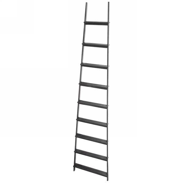 Лестница приставная металическая 9 ступеней, высота 250 см, шаг ступени 27 см, вес 6,8 кг купить оптом и в розницу