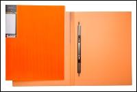 """Папка скоросш.Hatber А4 """"HD"""" Неоново-оранжевая, 17мм купить оптом и в розницу"""