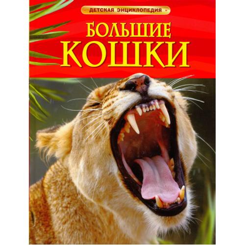 Книга 978-5-353-05755-0 Большие кошки.Детская энциклопедия купить оптом и в розницу