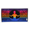 Махровое полотенце 50*100см Морской закат пестротканное пляжное ЖК100-4-121-061 купить оптом и в розницу