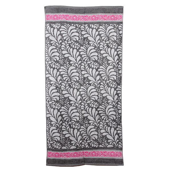 Махровое полотенце 70*140см теплый серый пестротканное ЖК140-4-115-099 купить оптом и в розницу