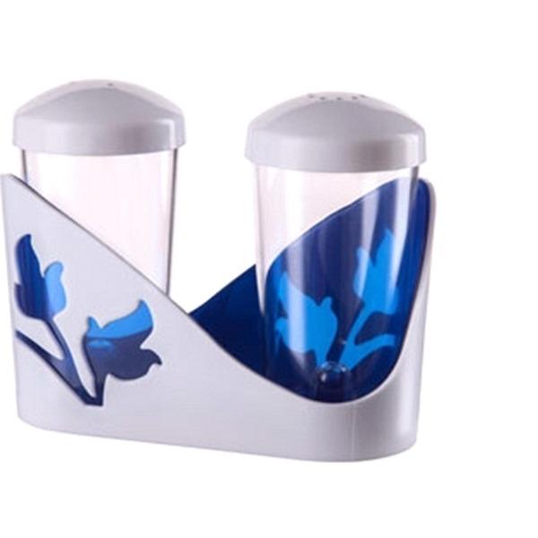 """Набор для специй """"Viola"""" (синий полупрозрачный) *34 купить оптом и в розницу"""
