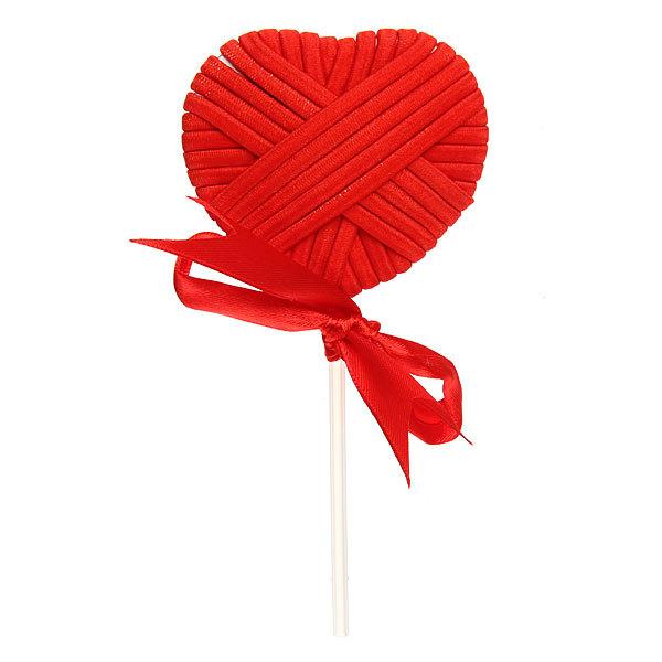 Резинка для волос 24шт ″Леденец″, цвет красный купить оптом и в розницу