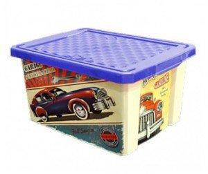 Ящик для хранения Optima Ретро 12 л*4 купить оптом и в розницу