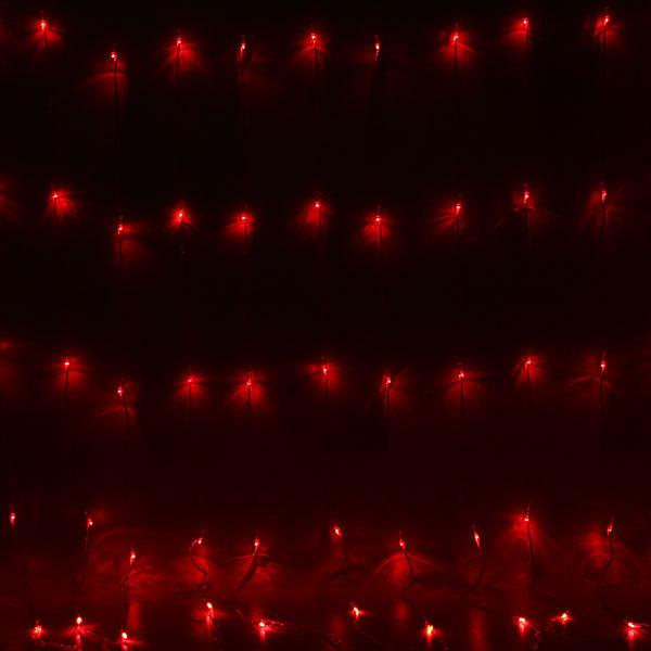 Занавес светодиодный ш 2 * в 3м, 784 лампы LED, ″Дождь″, Мультицвет, 12 реж, прозр.пров. купить оптом и в розницу