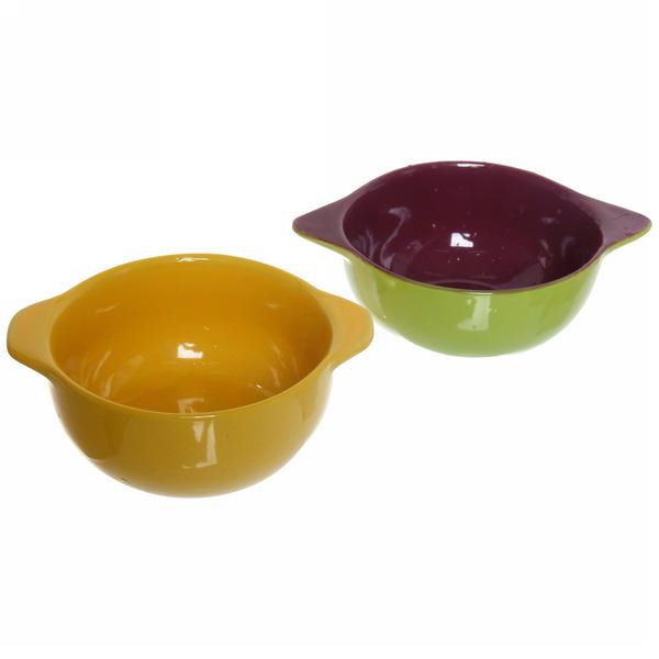 Салатник керамический 350мл ″Цветной микс″ купить оптом и в розницу