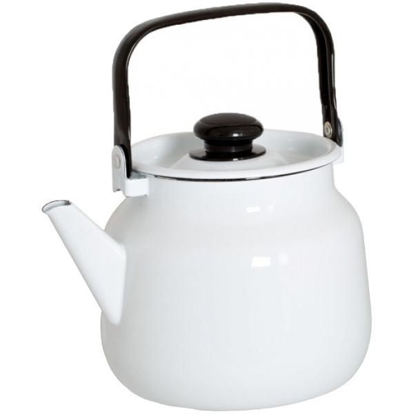 Чайник эмалированный 3,5л без рисунка купить оптом и в розницу