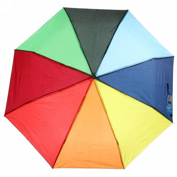 Зонт женский механический ″Летняя радуга″, 8 спиц, d-95см, длина в слож. виде 23см купить оптом и в розницу