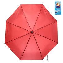 Зонт женский механический ″Эстетика″ цвет бордовый, 8 спиц, d-100см купить оптом и в розницу