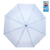 Зонт женский механический ″Эстетика″ цвет голубой, 8 спиц, d-100см купить оптом и в розницу
