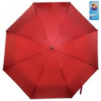 Зонт женский механический ″Эстетика″ двухцветный, верх бордовый, низ серебро, 8 спиц, d-97см купить оптом и в розницу