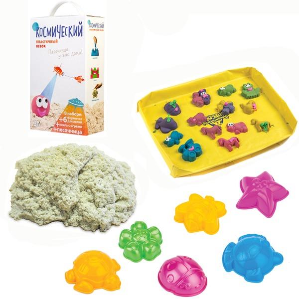 Набор ДТ Космический песок Классический 3 кг. песочница и формочки кор. купить оптом и в розницу
