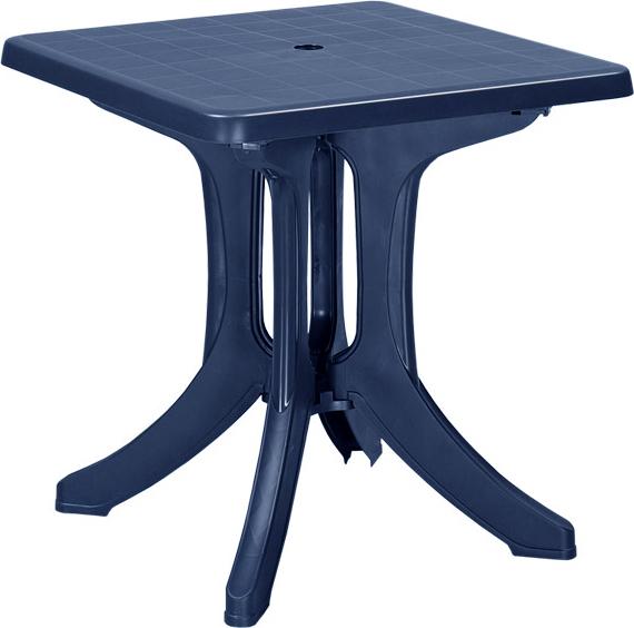 Стол NAPOLI 70х70х72см синий купить оптом и в розницу