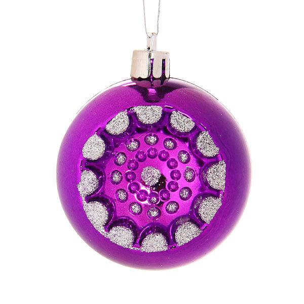 Новогодние шары ″Прожектор″ 6см (набор 6шт.) купить оптом и в розницу