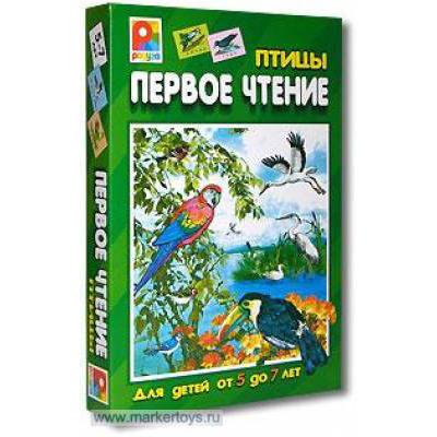 Игра Первое чтение Птицы С-458 купить оптом и в розницу