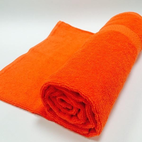 Полотенце махровое 50х90 цв.коралловый Марьины узоры купить оптом и в розницу
