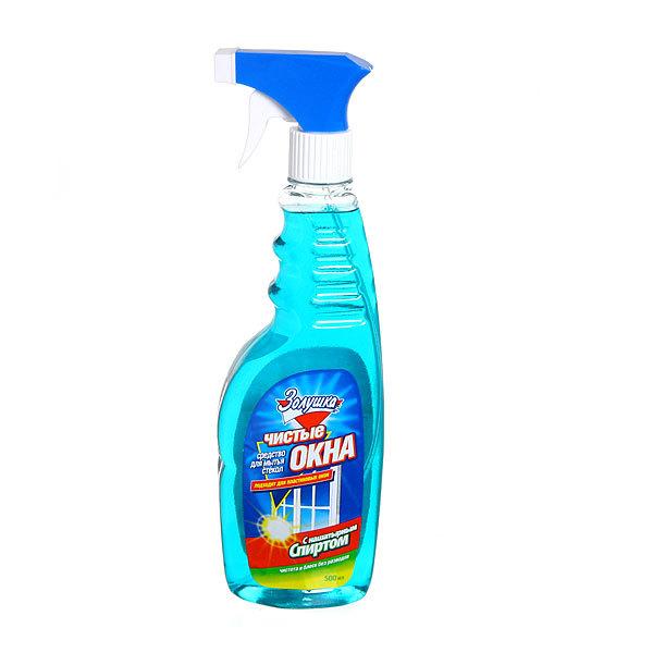 Средство для мытья стекол ЗОЛУШКА Чистые окна с нашатырным спиртом с триггером 500мл. купить оптом и в розницу