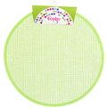 Салфетка на стол 38см плетеная, зеленая Селфи купить оптом и в розницу