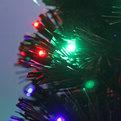 Елка светодиодная 120 см оптоволокно + 140 LED CX673A-4 купить оптом и в розницу
