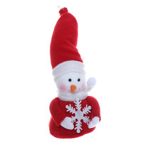 Фигурка ″Снеговичок со снежинкой″ 11*7,5см купить оптом и в розницу